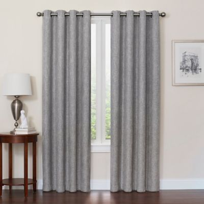 Quinn 72 Inch Grommet Top 100 Blackout Window Curtain Panel In