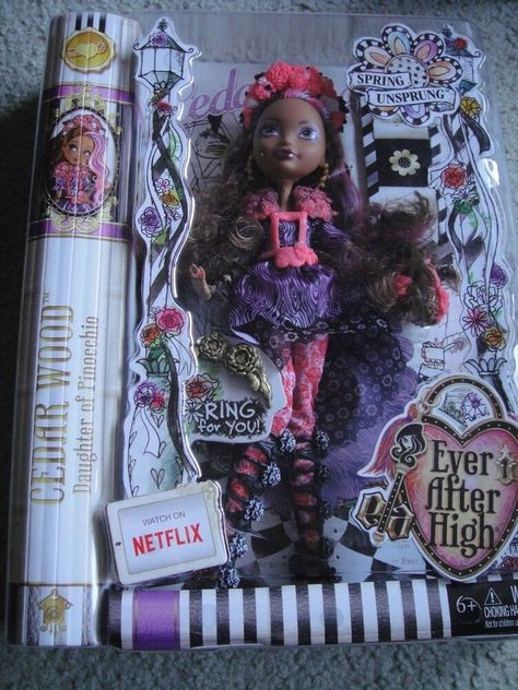Outstanding Ever After High Spring Unsprung Cerise Hood Doll Ebay Machost Co Dining Chair Design Ideas Machostcouk