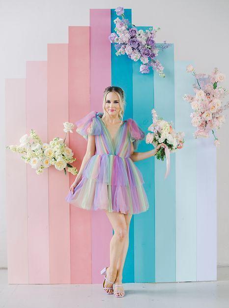 Lovegood Wedding Event Rentals New Orleans Furnitue Decor In 2020 Rainbow Wedding Rainbow Wedding Dress Pastel Wedding Dresses