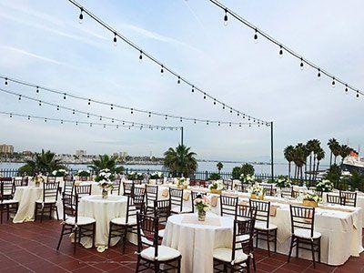 Long Beach Weddings Reef Restaurant Long Beach Wedding Venues Long Long Beach Wedding Long Beach Wedding Venues Beach Wedding Locations