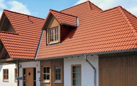 Braas Frankfurter Pfanne Dachziegel - Roof Tiles Pinterest - minecraft küche bauen