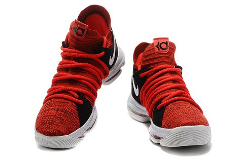 reputable site 9382b 77c20 New Arrival Nike KD 10 University Red University Red Pure Platinum Black  897816-600