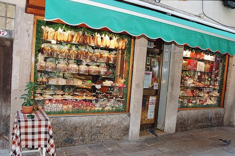a pastry shop in Venice