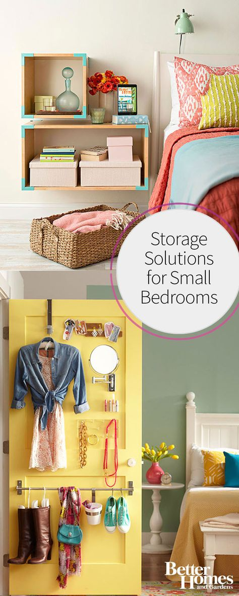 Storage Solutions for Small Bedrooms | Smart Storage ...
