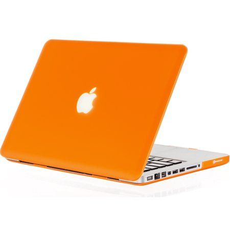 Kuzy 15 Inch Orange Rubberized Hard Case Cover For Apple Macbook Pro 15 4 Inch Model A1286 Glossy Display Orange Macbook Pro Macbook Pro Cover Macbook