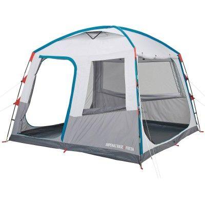 Groupe 3 Randonnee Sejour Arpenaz Base L Fresh Quechua Camp Du Randonneur Camping En Tente Tente Decathlon Tente Familiale