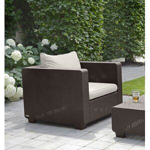 Burruss Patio Sectional With Cushions Patio Chairs Patio Furniture For Sale Patio Sectional