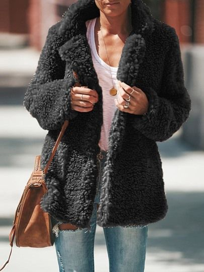 Damen Teddyjacke Winter Warm Jacke Mantel 25% Rabatt 109€+
