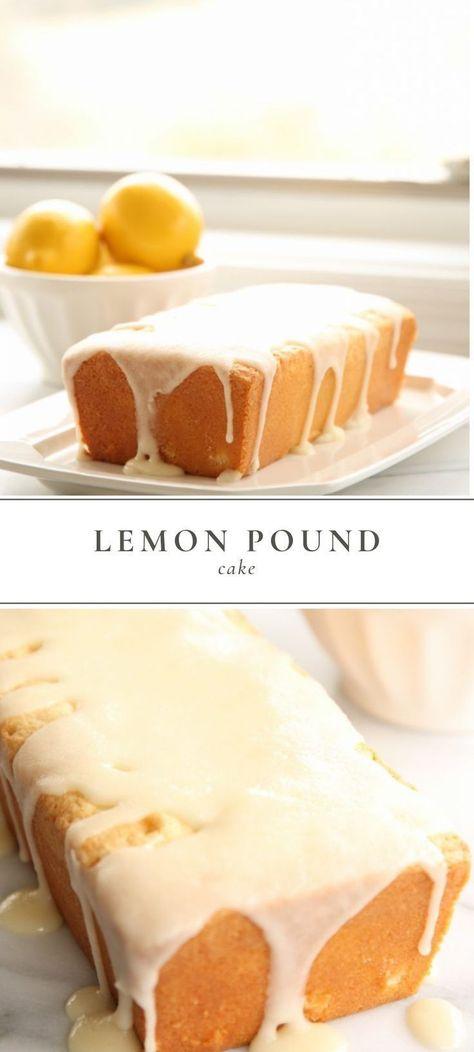 This lemon pound cake is moist, refreshing and oh so irresistible! #lemonpoundcake #lemon #cake #dessert #recipe #summerrecipe #easy recipe