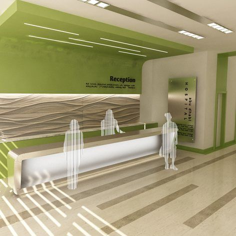 Renovation Of The Reception Area For An Hospital Archi Luxury