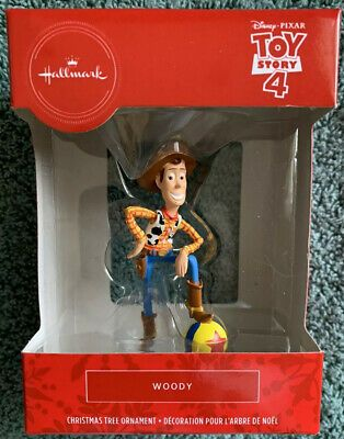 Details About 2019 Hallmark Red Box Toy Story 4 Christmas Tree Ornament Woody New 3 5 Tall In 2020 Christmas Tree Ornaments Toy Boxes Tree Ornaments