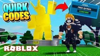 Boku No Roblox Remastered All Codes Insane Rare Quirks March