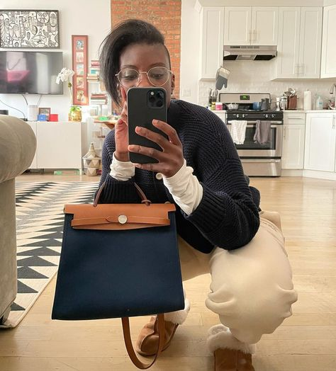 "Nikki Ogunnaike on Instagram: ""in my bag 😈💎👜 #35 #capricornseason #happybirthdaytome"""