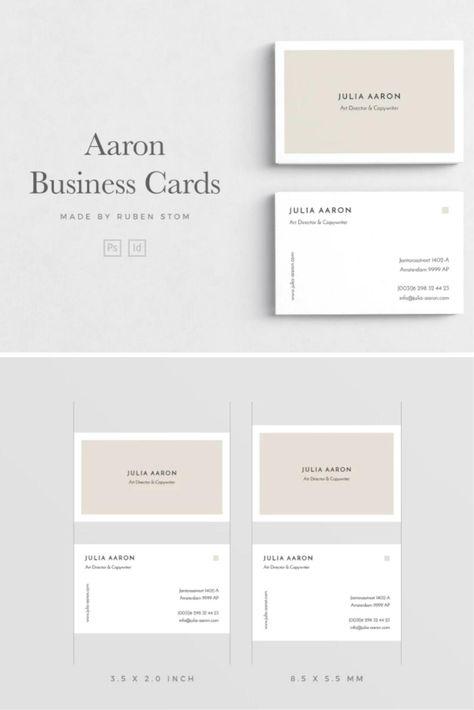 Aaron Business Card