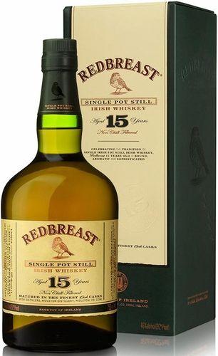 Redbreast 15 Year Old Irish Whiskey Irish Whiskey Whiskey Irish Whiskey Brands