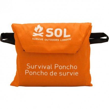 Poncho De Survie Survive Outdoors Longer