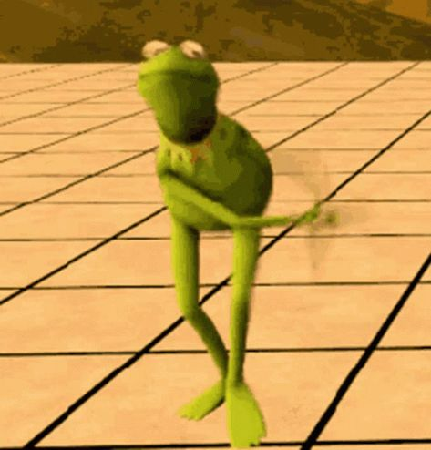 Kermit The Frog Dance GIF - KermitTheFrog Dance Swag - Discover & Share GIFs