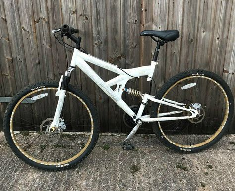 Sabre Shot Mtb Full Working Order Good Tyres Has Small Rip On