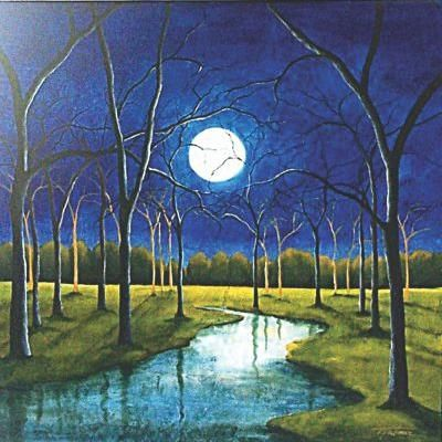 Lalon S Moon Songs Oil Painting Nature Scenery Paintings Oil Painting Landscape