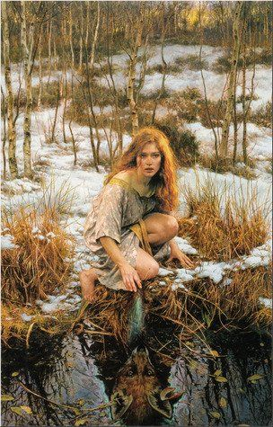 Gordon Crabb - Cover for an edition of the novel Spirit Fox by Mickey Zucker Reichert & Jennifer Winger, 1998