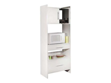 Meuble bas 80 cm 2 portes + 1 tiroir - conforama meuble bas cuisine
