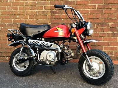1980 Honda Z50 J 1 Monkey Bike Only 1699 Miles Fantastic Original Honda Classic Bike Honda Mini Bike