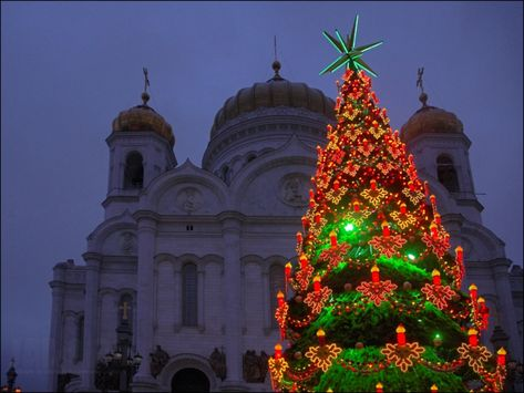 Russische Weihnachten Weihnachten in Russland weihnachtsspeisen weihnachtsbaum