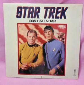 1995 Star Trek Calendar Still Sealed Reuse In 2023 Ebay