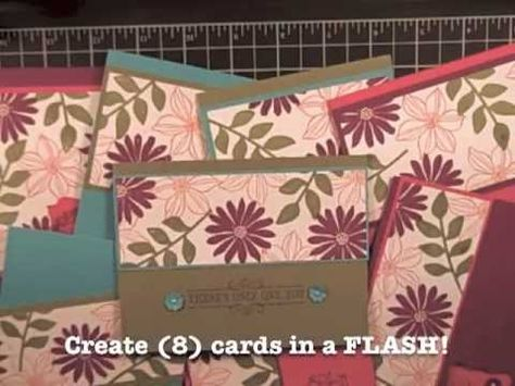 Video - Simply Simple SUPER FLASH CARDS by Connie Stewart