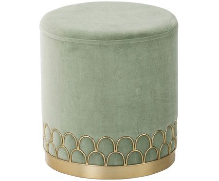 Hocker Poufs Online Kaufen Westwingnow In 2020 Armchair Furniture Green Velvet Sofa Interior Furniture