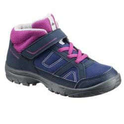 Buty Turystyczne Mh100 Mid Dla Dzieci Boots High Boots Midnight Blue