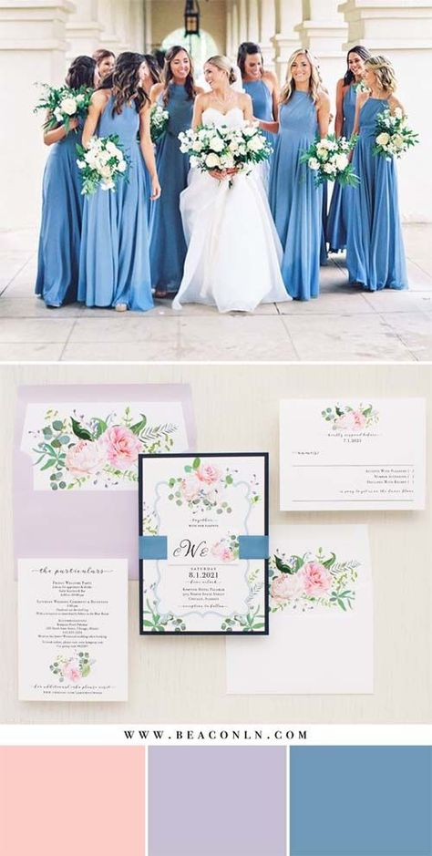 Ideas for wedding invitations boho chic bridesmaid dresses