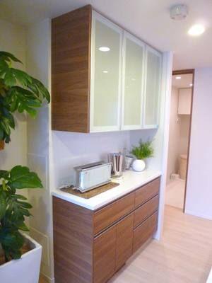 タカラスタンダードの背面収納 例 キッチン 背面収納 タカラスタンダード キッチン 棚 おしゃれ