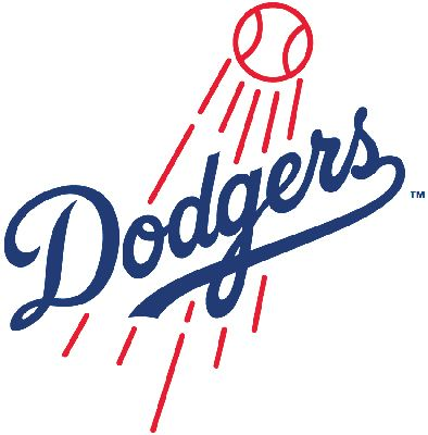 The Los Angeles Dodgers Colors Are Dodger Blue White And Red This Page Includes Their Dodgers Baseball Los Angeles Dodgers Logo Los Angeles Dodgers Baseball