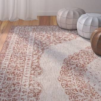 Bungalow Rose Fontanne Pink White Area Rug Reviews Wayfair Outdoor Area Rugs Area Rugs Indoor Outdoor Area Rugs