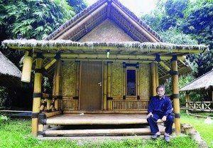 Rumah Bambu Minimalis