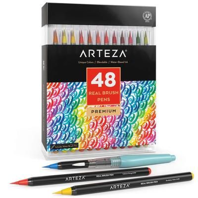Professional Watercolor Pencils Set Of 72 Brush Pen Pen Sets