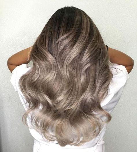50 Unique Brunette Balayage Hair Color Ideas