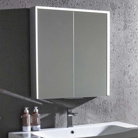 Roper Rhodes Lyric Led Illuminated Bluetooth Mirror Cabinet With Stereo Speakers Mirror Cabinets Cabinet Bathroom Cabinets