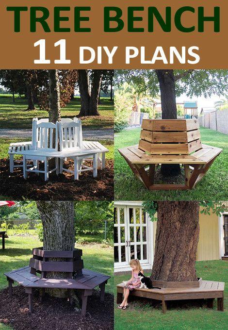 Free Diy Tree Bench Plans In 2020 Tree Bench Diy Tree Bench Plans