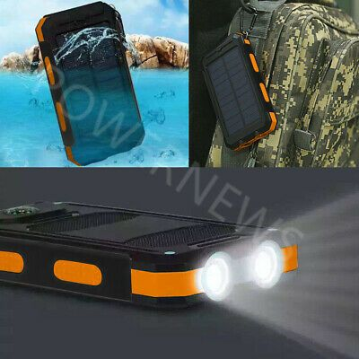 2020 Waterproof 2000000mah Usb Portable Charger Solar Power Bank For Phone Solar Charger Portable Solar Battery Charger Solar Charger