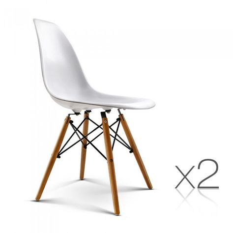 Prime 2 X Replica Eames Eiffel Dsw Dining Chairs White Home Pdpeps Interior Chair Design Pdpepsorg