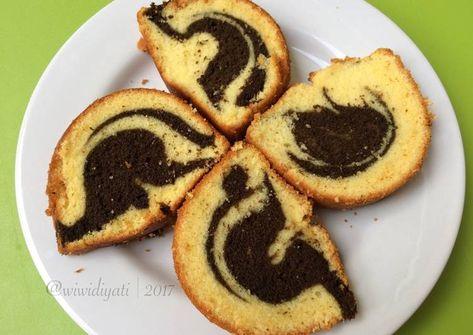 Resepi Kue Cake Zebra Putih Telur Pawtaste Com