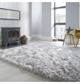Shaggy Rugs Uk Plush Shag Pile Rug Land Of Rugs In 2020 Gray Rug Living Room Rugs In Living Room Grey Bedroom Rug