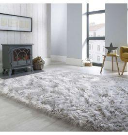 Shaggy Rugs Uk Plush Shag Pile Rug Land Of Rugs In 2020 Gray Rug Living Room Rugs In Living Room Rugs Uk