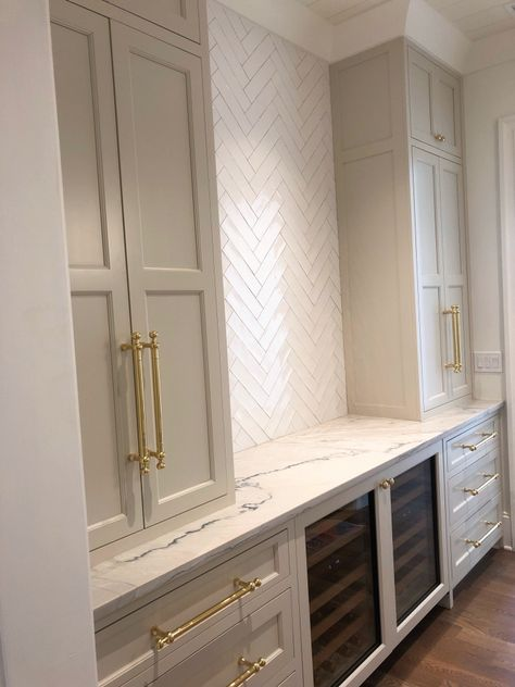 Butlers Pantry in Farrow and Ball Shaded White