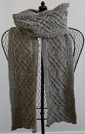 Ravelry: Iron Works Scarf pattern by Madeline Lee