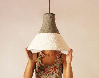 Papier Mache Lamp Cypisek Lamp Paper Mache Hanging Lamp Pendant Lamp Hanging Cypisek Hanging Mache Paper Papier Hanging Lamp Lamp Pendant Lamp