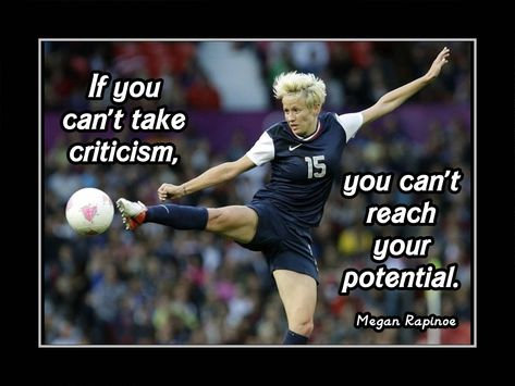 Soccer Poster Carli Lloyd Olympic Champion Photo Quote by ArleyArt Motivation Poster, Motivation For Kids, Soccer Motivation, Motivation Wall, Soccer Memes, Basketball Quotes, Sports Memes, Inspirational Soccer Quotes, Inspiring Quotes