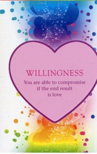 Power Of Love Activation Cards James Van Praag Willingness You Are Able To Compromise If The End Result Is L Signs From The Universe Messages Spirit Guides
